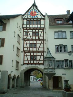 Travelling Backflip -Switzerland Basel, Places In Switzerland, Medieval Tower, Old Town, Mansions, Country, Towers, House Styles, Travelling