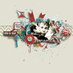 Seuss Inspired Scrapbooking Fun! Digital Scrapbook Kit - FUNTASTICAL | by ForeverJoy Designs