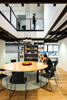 clemenger bbdo office space by hassell advertising office space