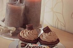 Kinder Bueno-Cupcakes 1