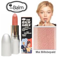 """The Balm Girls Lipstick - Mai Billsbepaid The Balm Girls Lipstick in Mai Billsbepaid (velvety pink toned nude color). It'll give you a flattering nude pink on your lips, they'll be """"your lips but better!!"""" BNIB. Never used or swatched. 100% Authentic. Price Firm. No Trades, No PP. The Balm Makeup Lipstick"""