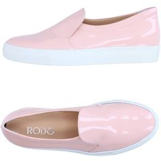 Rodo Loafer (475 CAD) ❤ liked on Polyvore featuring shoes, loafers, light pink, round toe loafers, light pink shoes, loafers moccasins, leather loafers and genuine leather shoes
