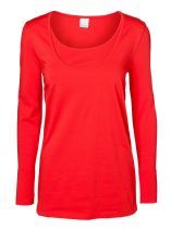 Emma Maternity & Nursing Top Red L+XL Only Was 22