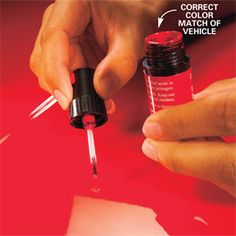 How to Repair Chipped Car Paint  Do it now before it mushrooms into a huge expense