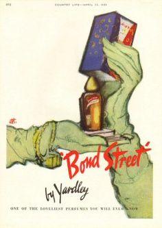 vintage yardley ads | Perfume [yardley-bond-street-001] - £2.65 : Ads and Mags, Vintage ...