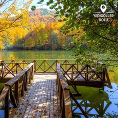At Yedigöller National Park, each step you take brings you closer and closer to nature...