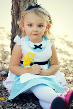 ALICE IN WONDERLAND Disney Princess inspired Child Costume