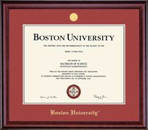 $182 with shipping -- BU Frame for Diploma
