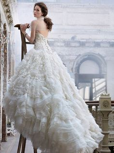 https://flic.kr/p/ARWqQw   Trouwjurken   Wedding Dress, Wedding Dress Lace, Wedding Dress Strapless   www.popo-shoes.nl