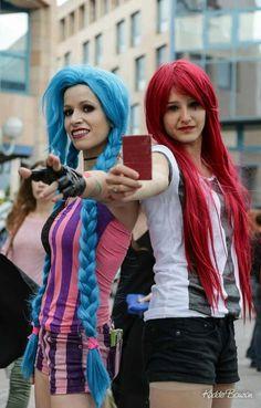 #Jinx #Jinxed #Katarina #BestFriends #MangAzur #LeagueOfLegends  #SayukiCosplay  #JeuxVideo #VideoGames #Cosplay
