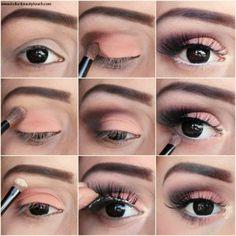 11 tutoriales de maquillaje para ojos marrones
