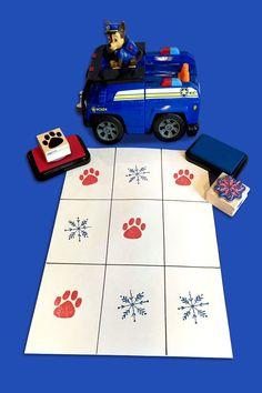PAW Patrol Winter Tic Tac Toe