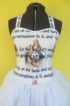 Alice In Wonderland Wedding Dress Prom Dress by RoobyLane on Etsy