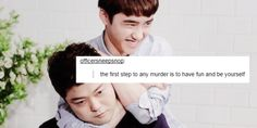 Wolves In Neverland, EXO | text posts ↳ Kyungsoo