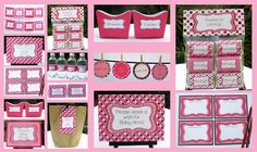 Girl Baby Shower Invitation & Printable Collection