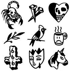 desenhos disponiveis para tatuar msgtraditional@gmail.com #tattoo #blackwork #blackworkers #blxckink #tattooflash #tattoodesign… Traditional Tattoo Stencils, Traditional Ink, Blackwork, Old School Tattoo Designs, Small Tattoo Designs, Tattoo Flash, Black Tattoos, Small Tattoos, Tatoo Styles