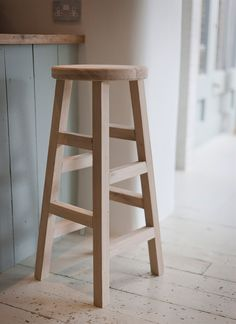 We Have Added A Tall Stool To Our Elegant Raw Oak Collection. A Timeless  Design