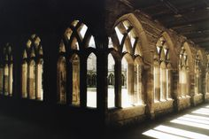 loveeee cloisters! Hogwarts courtyard, or Durham Cathedral?
