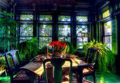 Breakfast Room, Glensheen Mansion, Duluth, Minnesota by Amanda Stadther. http://amanda-stadther.artistwebsites.com/