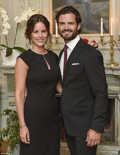 Princess Sofia and Prince Carl Philip have revealed they won't be finding out the sex of their first child as they reveal they've been practising by babysitting royal nieces