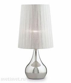 Настольная лампа декоративная IDEALLUX ETERNITY ETERNITY TL1 SMALL