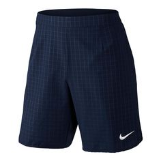 "Nike Court Gladiator Premier 9"" Tennis Shorts Mens 2XL Obsidian White 729394 451 #Nike #Shorts"