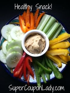 Healthy Snack I thought I'd share one of my kiddos favorite Healthy Snacks! There's lots of variety and color for them to choose from, plus it's Super Easy! Here's what you do: of each Peppper (in a variety of colors) cut .I thought I'd share one of Lunch Snacks, Healthy Snacks, Healthy Eating, Healthy Recipes, Stay Healthy, Good Food, Yummy Food, Tasty, Vegan Foods