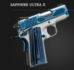 Kimber 1911 Sapphire Ultra II. This is such a sexy gun. I want this!!!