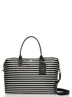 fdb5337cdb4e4 classic nylon large lyla weekender - kate spade New York - I have the  handbag version of this and it s a great summer bag. Aileen McDonley