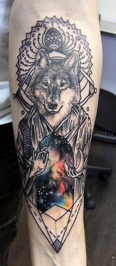 surreal-wolf-tattoos