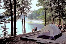 Devils Fork State Park - Salem, SC Been to this exact campsite! Kayak Camping, Camping Places, Camping Spots, Camping And Hiking, Camping Life, Family Camping, Outdoor Camping, Camping Stuff, Rv Life