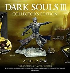 Dark Souls III: Collectors Edition – PlayStation 4 - Minecraft, Pubg, Lol and Latest Video Games, Video Games Xbox, Xbox One Games, Ps4 Games, Dark Souls Xbox One, Dark Souls 3, Playstation, Consoles, Hidetaka Miyazaki