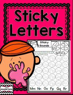 https://www.teacherspayteachers.com/Product/Sticky-Letters-1236589