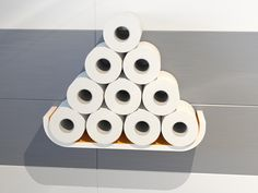Funny toilet paper shelf
