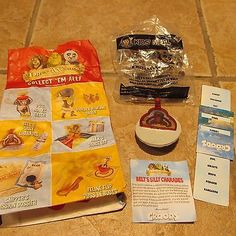 Wendy's Kid Meal Belt's Silly Charades Toy Complete Set DreamWorks Animation 3+ - http://hobbies-toys.goshoppins.com/fast-food-cereal-premium-toys/wendys-kid-meal-belts-silly-charades-toy-complete-set-dreamworks-animation-3/