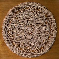 Pineapple Crochet Doily by Patricia Kristoffersen