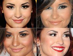 Demi Lovato's make up!