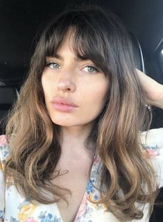 Hair Inspo, Hair Inspiration, Peinados Pin Up, Corte Y Color, Trending Haircuts, Haircut And Color, Pretty Hairstyles, Fringe Hairstyles, Mi Long