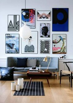 Wall Ideas Dark Gray Paint And The Wall On Pinterest
