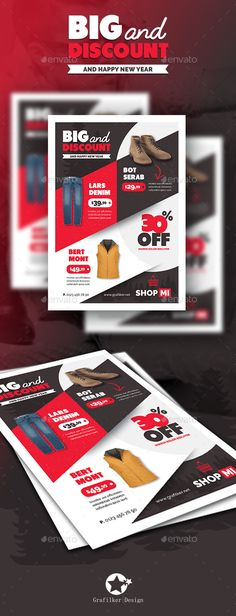 Supermarket Products Flyer Templates Flyer template, Template - discount flyer template