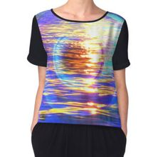"""""""Oblivion"""" Chiffon Tops by scardesign11 