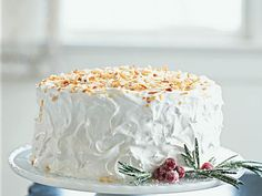 This coconut cake recipe is one of our readers' all-time favorites. The frosting is also popular for several other cupcake and cake...