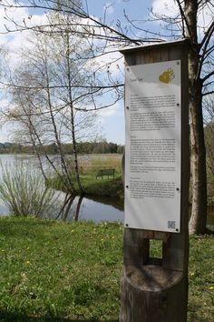 Info-Tafel, Soier See, Bad Bayersoien, Ammergauer Alpen