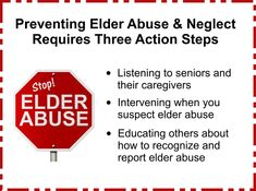 """""""The Shocking Truth About Elder Abuse & Neglect"""" By Carol Purroy M.A #elderabuse"""