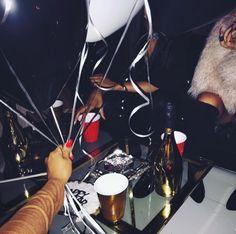 Birthday balloons party janta dinner