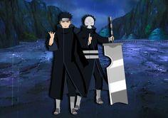 Naruto rain and mist ninja brothers #naruto #mist #pain #zabuza