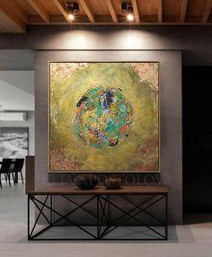 #metallic #gold #original #painting #copper #leaf #wall #art #glam #goldleafart #wallart #copperleaf #abstract #originalpainting #goldleaf #luxurydecor #originalpainting #juliaapostolova #luxury #moderndecoration #interiors #minimalart #pinterest #contemporaryart #abstractart #luxuryhomes #modern #trendy #readytohang #artwork #livingroomdecor #largewallart #mixedmediaart #canvas #acrylic #juliaapostolovaart #oldgold #hugeart #abstractart #heavytextured #lobbyfurniture #largewallart #oils… Gold Leaf Art, Leaf Wall Art, Large Wall Art, Framed Art, Gold Paint, Metallic Paint, Metallic Gold, Your Paintings, Original Paintings