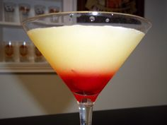 Over the years I have had several opportunities to make martini's, shots and cocktails but the pineapple upside down cake martini and shot really takes the upside down cake. This drink is probably one of the most popular that I make at my home bar...