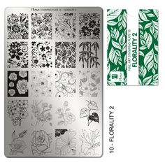 Moyra stamping plate - 10 - Florality 2