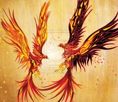 18 Phoenix Artworks : The Flaming Bird | Design Inspiration | PSD Collector